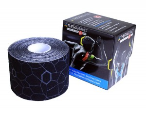 Thera-Band XactStretch 12926 taśma do kinesiotapingu 5cm rolka 5m czarno-szara