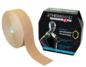 Thera-Band XactStretch 12924 taśma do kinesiotapingu 5cm rolka 31.4m beżowo-beżowa
