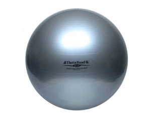 Thera-Band Professional Exercise Ball ABS 23050 piłka rehabilitacyjna 85 cm srebrna